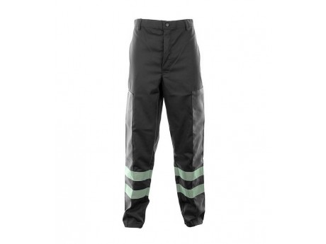 Black Ballistic Trousers C/W Hv Tape - 01NWTR4515BK