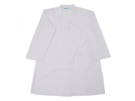 Warrior White Warehouse Coat - 01NWWC11WH