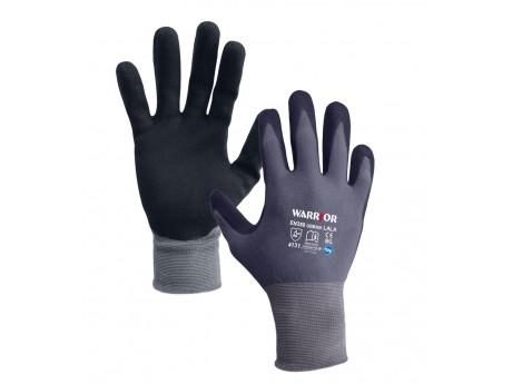 Black Nitrile Open Back Glove - 0111OBBKN
