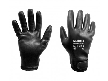 Warrior Full Dipped Foam Nitrile Glove - 0111WNCTL