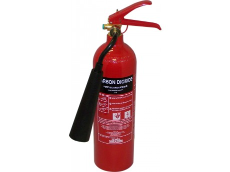 Jewel Saffire 2KG CO2 Extinguisher - 01FIRE2CO2