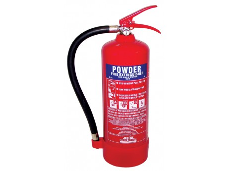 Jewel Saffire 4KG Powder Extinguisher - 01FIRE4KG