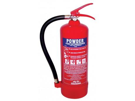 Jewel Saffire 6KG Powder Extinguisher - 01FIRE6KG