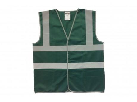 Warrior Basic Waistcoat Bottle Green - 0118WCBBG