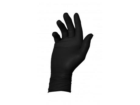 Warrior Dracogrip Black Fishscale Grip Glove (Box of 50) - 01DGFSGGBK24