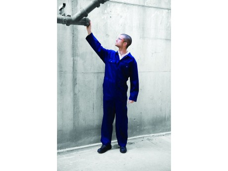 Warrior Royal Stud Front Coverall - 01NWBS300RY