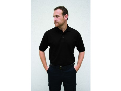 Warrior Polo Shirt Black - 01HL209BK