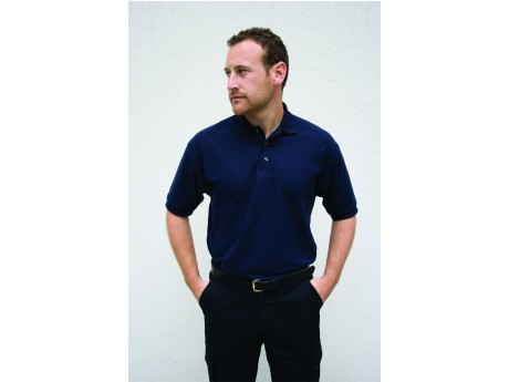 Warrior Polo Shirt Navy - 01HL209NV