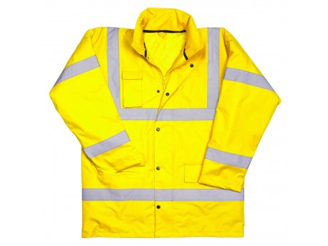 Warrior Hi Vis Utah Anorak Yellow - 0118NWBFAG