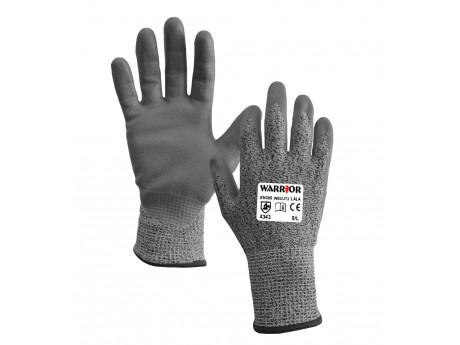 Warrior Cut Level 3 Water Based PU Glove - 0111WBCUT3