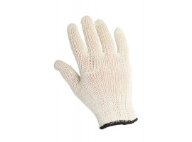 Warrior White Mixed Fibre Gloves - 0111MW