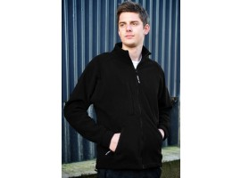 Warrior Baltimore Fleece Jacket - Black - 0118BFC