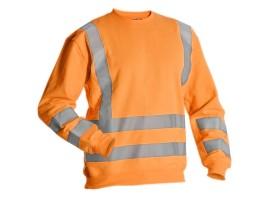 Miami Hi-Vis Sweatshirt - Orange - 0118MIAMIO