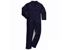 Warrior Navy Flame Resistant Boilersuit - 0118PC