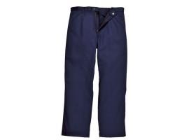 Warrior Navy Flame Retardant Trousers - 0118PT