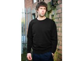 Warrior Classic Black Sweatshirt - 0118SSB