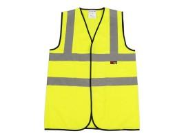 Warrior Waistcoat Yellow (100 Piece Bulk Pack) - 0118BPVEST