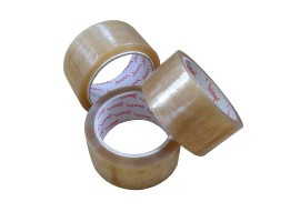 "Rolls 2""(50mm) Vibac Clear Tape - 0126VC"