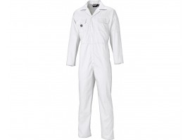 Dickies White Redhawk Economy Stud Front Overall - 01WD4819WH