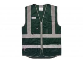 Warrior Bottle Green Executive Waistcoat - 0118WCEXBG