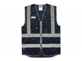 Warrior Navy Executive Waistcoat - 0118WCEXNV
