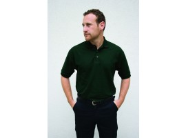 Warrior Polo Shirt Bottle Green - 01HL209BG