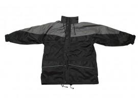 Warrior Illinois 3-in-1 Coat - Black/Charcoal - 0118ITTBC