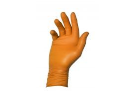 Warrior Dracogrip Orange Fishscale Grip Glove (Box of 50) - 01DGFSGGOR24