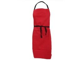 Warrior AP201 Apron Red With Pocket - 01NWAP201RD
