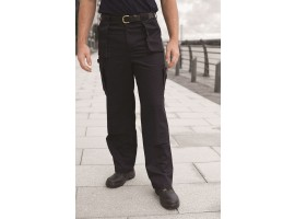 Warrior Super Cargo Trousers Black - 01NWTR381BK
