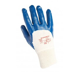 Warrior L/W Nitrile Gloves (Pack of 12) - 01PK11LNOBKW