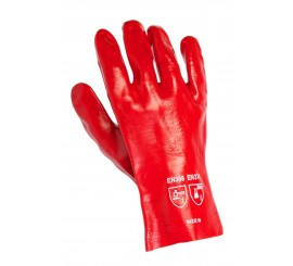 Warrior Red Pvc Gloves (Bulk Pack) - 01PK11RPGI