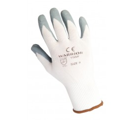Warrior Grey Nitrile Sponge Lined Glove - 0111WF