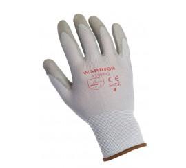 Warrior Grey PU Glove - 0111WPG