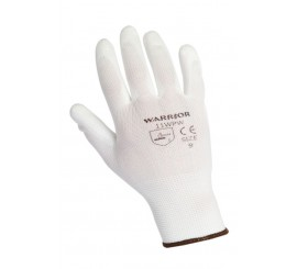 Warrior White PU Glove - 0111WPW