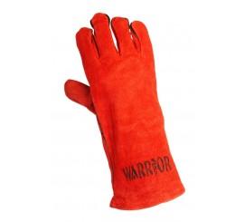 Warrior Red Patchpalm Welders Glove - 0111WRSCPP