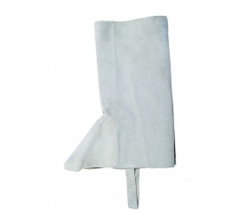 """16"""" Chrome Leather Gaiters - 0112CL16"""