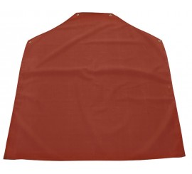 Red Rubber Apron - 0113R