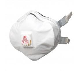 3M Face Masks FFP3D Valved Moulded (5 Per Box) - 01168835
