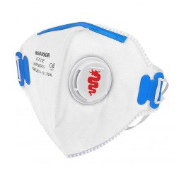 Warrior FFP2 Valved Fold Flat Masks (Pack of 20) - 0116MMRFF2V