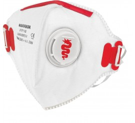 Warrior FFP3 Valved Fold Flat Masks (Pack of 20) - 0116MMRFF3V