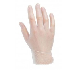 Clear Vinyl Gloves (Pack Of 100) - 0117G