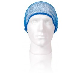 X 144 Blue Hairnets - 0117HN