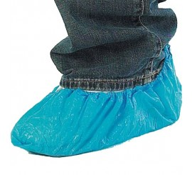 Disposable Blue Overshoes - 0117OB
