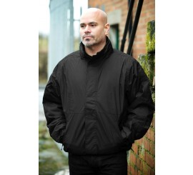 Warrior Black Ohio Bomber Jacket - 0118BJB