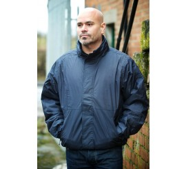 Warrior Navy Ohio Bomber Jacket - 0118BJN