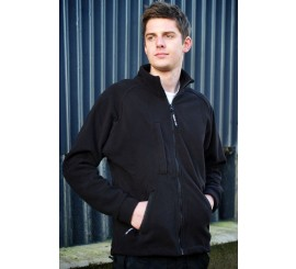 Warrior Baltimore Fleece Jacket - Dark Navy - 0118DNFC