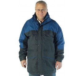 Warrior Illinois 3-in-1 Coat - Navy/Royal - 0118ITTNR