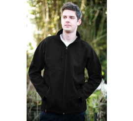 Warrior Maine Soft Shell Black Jacket - 0118MAIB