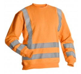Miami Hi-Vis Sweatshirt - Orange - 0118MIAMIO